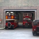 London Bus Station by Vicki Spindler (VHS Photography)