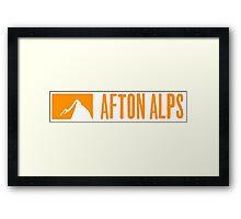 AFTON ALPS Framed Print