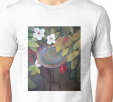 Bird Bath Unisex T-Shirt
