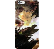 The werewolf sings for the moon iPhone Case/Skin