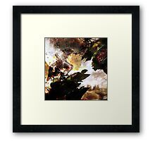 The werewolf sings for the moon Framed Print