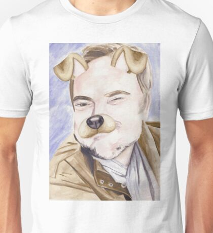 Mark Sheppard, watercolor painting Unisex T-Shirt