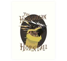 The Hungarian Horntail- Harry Potter Art Print