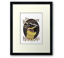 The Hungarian Horntail- Harry Potter Framed Print