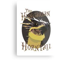 The Hungarian Horntail- Harry Potter Metal Print