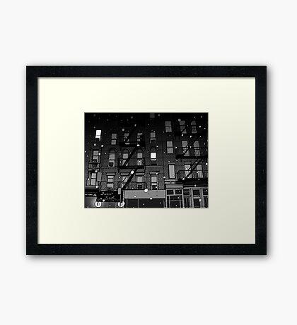 Street Art 3 Framed Print