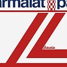 Niki Lauda White Helmet by EdwardDunning