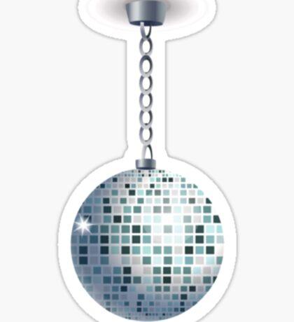 Glitch furniture ceilingdeco disco ball Sticker