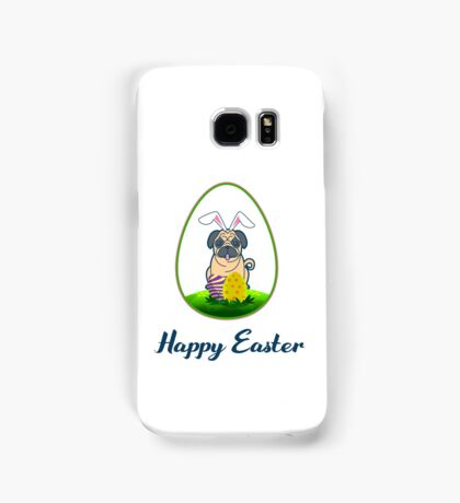 Happy Easter Pug Lover Samsung Galaxy Case/Skin
