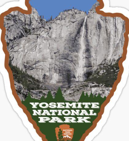 Yosemite National Park Arrowhead Sticker