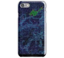 USGS TOPO Map California CA Sly Park 300542 1952 24000 geo Inverted iPhone Case/Skin