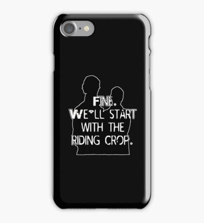Riding Crop iPhone Case/Skin