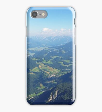 Salzburg Mountains iPhone Case/Skin