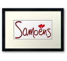 SAMOENS Framed Print