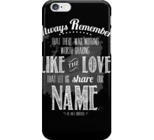 The avett brothers iPhone Case/Skin