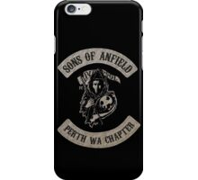 Sons of Anfield - Perth WA Chapter iPhone Case/Skin