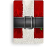 I Believe! (Kris Kringle Couture/ Santa Claus Suit)  Canvas Print