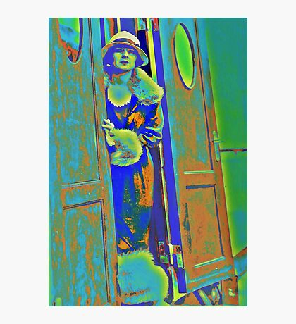 Alice in the Doorway Photographic Print
