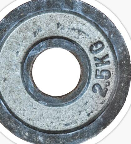 Barbell Weight Sticker