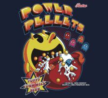 Power Pellets Kids Clothes