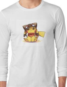 pika cute Long Sleeve T-Shirt