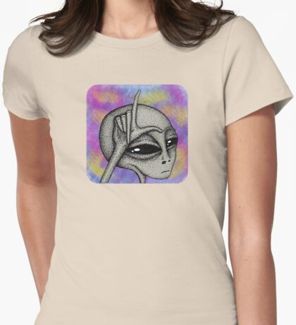 Soft Loser Alien II Womens Fitted T-Shirt
