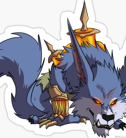 Warwick (Red) Sticker