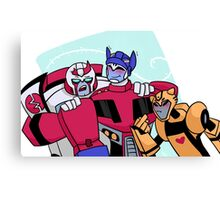 Autobot Family Canvas Print