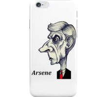 Arsene Wenger iPhone Case/Skin