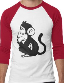 monkey Men's Baseball ¾ T-Shirt