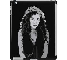 Lorde. iPad Case/Skin