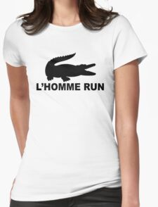 L'Homme Run Womens Fitted T-Shirt