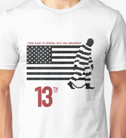 THE 13 AMENDMENT SLAVERY'S BROTHER Unisex T-Shirt