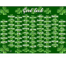 Good Luck Photographic Print