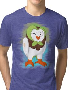 Pokemon - #723 ( Dartrix ) Tri-blend T-Shirt
