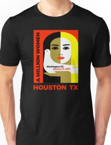 Women's March on Houston, Texas January 21, 2017 Unisex T-Shirt
