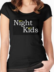 Night Kids Women's Fitted Scoop T-Shirt