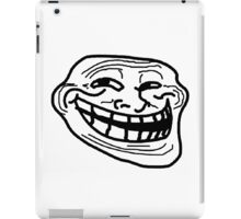 Black Mirror Grinning face iPad Case/Skin