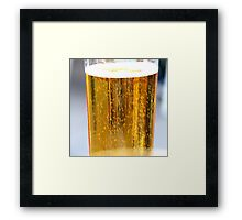 A beer...  Framed Print