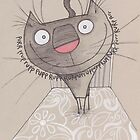 Good morning cat by dotmund