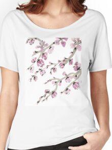 Cherry Blossoms, Sakura Women's Relaxed Fit T-Shirt