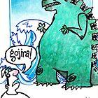 Gojira! by dotmund