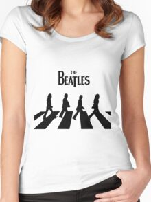 beatles 2 Women's Fitted Scoop T-Shirt