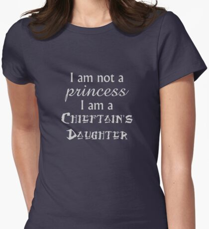 Who am I? Womens Fitted T-Shirt