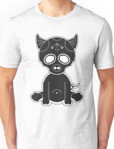 Sugar Skull Piggie Unisex T-Shirt