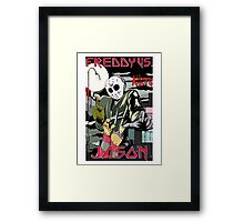 Freddy vs Jason Framed Print