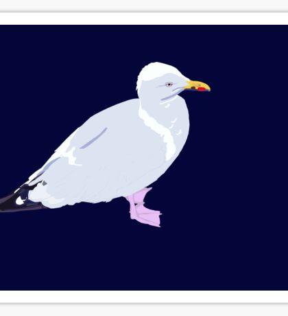 Sea Gull Sticker
