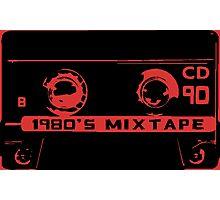 1980's mixtape Photographic Print
