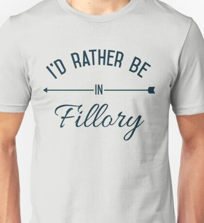 I'd Rather Be In Fillory Unisex T-Shirt