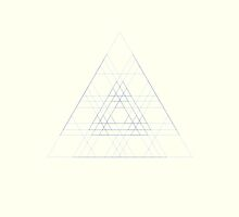 Triangle geometric pattern by opul